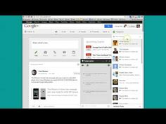 ▶ How to start a private Google+ Hangout (video or chat) - YouTube