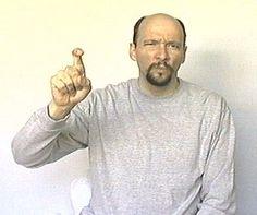 """need"" American Sign Language (ASL)"