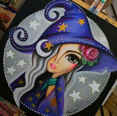 Small Canvas Paintings, Diy Canvas Art, Painted Bricks Crafts, Ballet Painting, Pop Art Drawing, Abstract Face Art, Art And Craft Videos, Shiva Art, Pastel Art