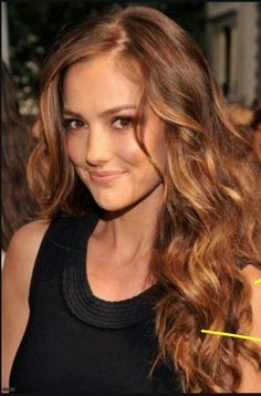 light brown hair with caramel highlights - Google Search