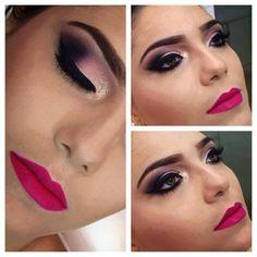 Make preto+rosa