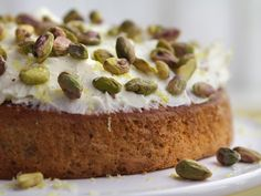 Lemon and Pistachio Cake from Channel 4 Sunday Brunch