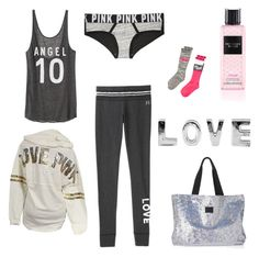 """Untitled #13"" by natalie-bachova on Polyvore featuring Victoria's Secret, women's clothing, women's fashion, women, female, woman, misses and juniors"