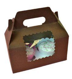 Caja para cupcakes