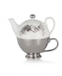 Miss Etoile Silver Teapot