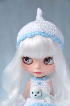 Blythe ✿✿✿ M: I dunno why I like the white hair so much...