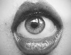 eyeball inside mouth