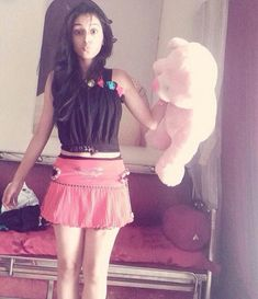 In this pic there are 2 cuties one is the teddy and the other is of course mallika_singh_official_ and mallika seems to be more cute than the teddy what do you say radheradhe radhakrishna cuteness teddy mallikasingh_official Radha Krishna Holi, Radha Krishna Pictures, Radha Rani, Krishna Photos, Indian Girl Bikini, Indian Girls, Radhe Krishna Wallpapers, Cute Krishna, Cute Girl Photo