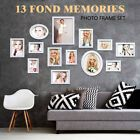 26 PCS White Wood Multi Picture Collage Set Photo Frames Home Decor Wall Mounted | eBay Living Room Decor Photos, Multi Picture, Rainfall Shower, Shower Arm, Picture Cards, White Wood, Wall Mount, Kids Room, Frames