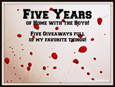 Home with the Boys Giveaway!