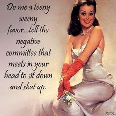 Seriously, the negativity some people put out is constant, an it tires me!
