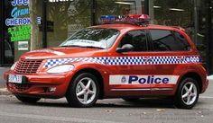 Victoria Police. Australia  Chrysler PT Cruiser