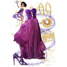 Esmeralda by violetvd on Polyvore featuring Rupert Sanderson, Chanel, Kate Spade, Anya Jewels and Elie Saab