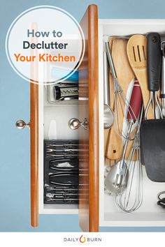 How to Declutter Your Kitchen, According to Marie Kondo - Health News and Views - Health.com