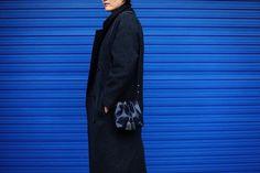 #minibucketbag #bucketbag #blue #bag #sheepskin  #minibag #leatherbag #VIAWATT # leather #italianleather #비아와트 #미니백 #성북동