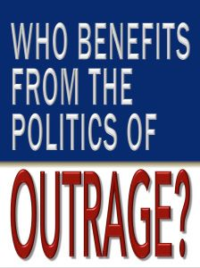 Who benefits from the Politics of outrage? Science Fiction, Benefit, Politics, Technology, Future, 21st Century, Books, Highlights, Sci Fi