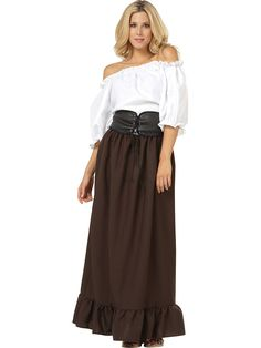Renaissance Peasant Lady Costume for Adults | Wholesale Renaissance Halloween Costumes for Womens