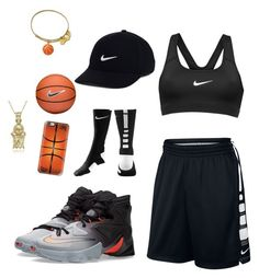 """""""Untitled #17"""" by shaniahc-i ❤ liked on Polyvore featuring NIKE, Casetify and Alex and Ani"""