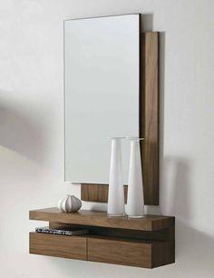 Glass Bedroom Furniture, Mirror Decor Living Room, Modern Room Decor, Living Room Sofa Design, Home Room Design, Home Decor Furniture, Wooden Shelf Design, Corner Shelf Design, Wooden Sofa Designs