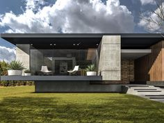 67 Likes, 2 Comments - Dream Houses Modern House Facades, Modern House Plans, Modern House Design, Residential Architecture, Contemporary Architecture, Architecture Design, Contemporary Design, Perspective Architecture, Morden House