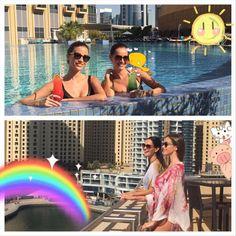 79749fbe12495 @alexandrapianka #pool #sun #dubai #uae #Keoro #resortwear #beachwear