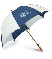"""64 """" Windproof Golf Umbrella #4imprint"""