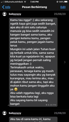 Quotes Rindu, Message Quotes, Reminder Quotes, Text Quotes, Mood Quotes, Life Quotes, Tumblr Quotes, Birthday Message For Boyfriend, Cute Inspirational Quotes
