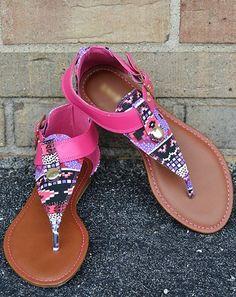 #shoes #sandals #colorful