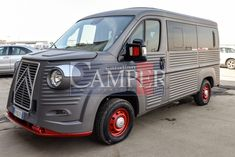 Citroen Type H - Caravan e Camper Granturismo Citroen Concept, Citroen Type H, Caravan, Dream Cars, Transportation, Trucks, Retro, Campers, Trailers