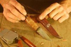 Making a Scandi Style Sheath