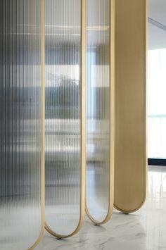 Transparente Raumteiler