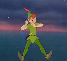 Peter Pan Art, Peter Pans, My Little Pony Princess, Disney Princess, Peter Pan Disney, Disney Wallpaper, Tinkerbell, Disney Characters, Fictional Characters