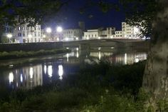 I #lungarni di Pisa, by #night!