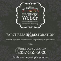 Advertisement, car, detailing