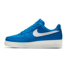 Nike Air Force 1 Low Essential iD Shoe. Nike.com ❤ liked on Polyvore featuring shoes and low shoes