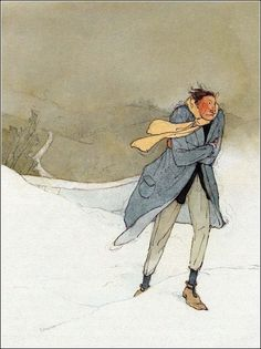 The Selfish Giant by Oscar Wilde Illustrated by Lisbeth Zwerger(1984).