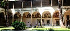 "Firenze, Kreuzgang der Kirche ""Santa Maria del Carmine"""