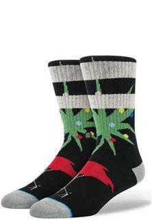 Stance Dasher Socks in Black M311D15DAS