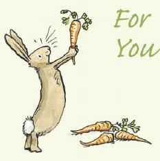 """For You"" ~ probably Anita Jeram rabbit drawing bunny art Image Animal Paintings, Animal Drawings, Cute Drawings, Easter Drawings, Drawing Animals, Bad Bunny, Cute Bunny, Illustration Artists, Cute Illustration"