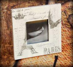 Bilderrahmen SHABBY PARIS II - Nette Sachen
