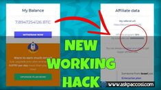The video above will show you that this method is 100% working. I managed to withdraw 0.01 BTC on a Free plan. My Balance, Bar Chart, The 100, How To Plan, Day, Free