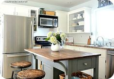 kitchen island makeover