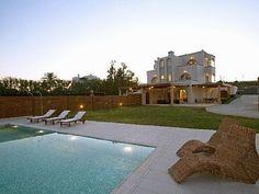 Kiotari Double Beach Poool Villas: Villa Rental, 6 Bedrooms, Sleeps 14 in Kiotari Vacation Rental in Kiotari from Rhodes Beaches, Beach Villa, Home And Away, Villas, Greece, Bedrooms, Travel, Vacation, Mansions