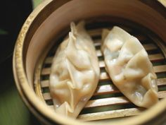 Alton Brown's Vegetarian Steamed Dumplings // Cooking Channel