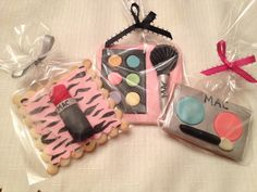 Makeup Cookie Favors - Kyrsten's Sweet Designs | Specialty Cakes and Cookie Favors