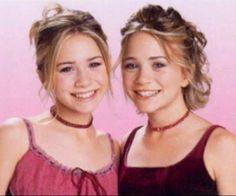 Olsen Sister, Olsen Twins, Mary Kate Ashley, 90s Makeup Look, Pictures Of Mary, Michelle Tanner, W Two Worlds, Ashley Olsen, Elizabeth Olsen