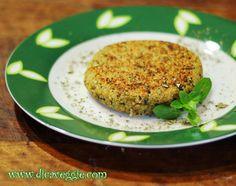 Vegamet - Ativismo Vegetariano: Hamburguer de Quinoa com Ervas ( Vegano )