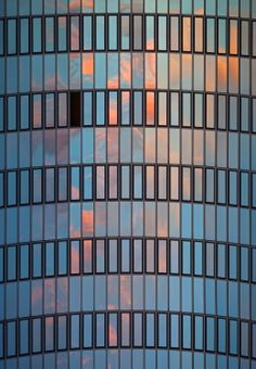 1X - Sky-reflection with a hole by Dirk Heckmann
