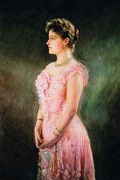 Portrait of Elisabeth Feodorovna, by Viktor Karlovich Shtemberg Reine Victoria, Queen Victoria, Luis Iv, Grand Duc, House Of Romanov, Alexandra Feodorovna, Tsar Nicholas Ii, Elisabeth, Imperial Russia