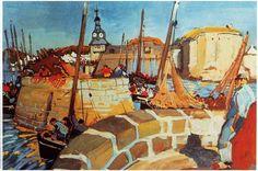 Concarneau et ses Peintres - Peintres Français - Mathurin Méheut